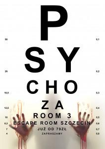 Psychoza - web - Escape Room Szczecin