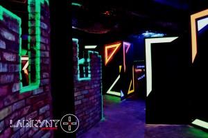 Arena - Labirynt Laser Tag Szczecin z Logo