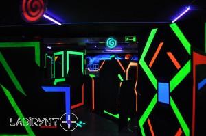 Arena11 - Labirynt Laser Tag Szczecin z Logo