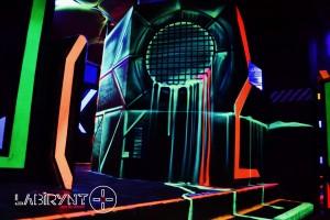 Arena16 - Labirynt Laser Tag Szczecin z Logo