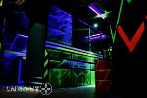 Arena19 - Labirynt Laser Tag Szczecin z Logo