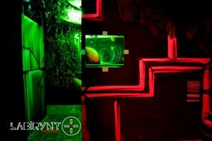 Green Base - Labirynt Laser Tag Szczecin z Logo