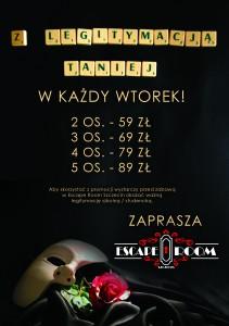 Znizka z legitymacja - 1 - Escape Room Szczecin