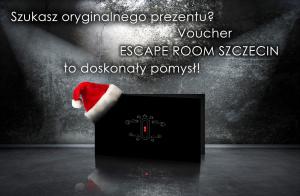Voucher - Mikolajki 2015 - wizualizacja - Escape Room Szczecin