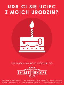 Urodziny - challenge - Escape Room Szczecin